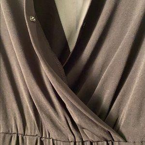 BCBGeneration Pants & Jumpsuits - BCBG Generation Jumpsuit Pant Short V Black Small